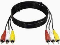 A/V-Kabel 3x Cinch-Stecker/Stecker 3,0m